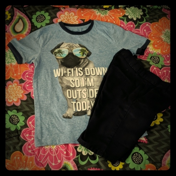 33929e8862d1 Well Worn Shirts & Tops   Boys Pug Tee   Poshmark